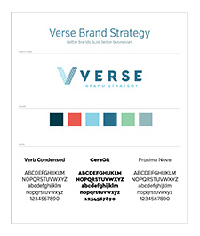 Verse Brand Standard Moodboard