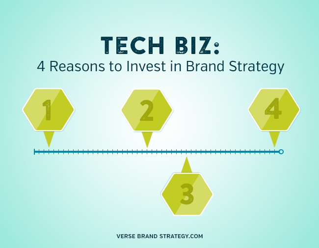 Tech Companies: 4 Reasons to Invest in Brand Strategy