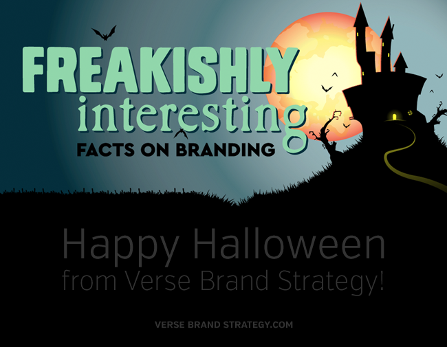 Happy Halloween! Freakishly Interesting Branding Facts