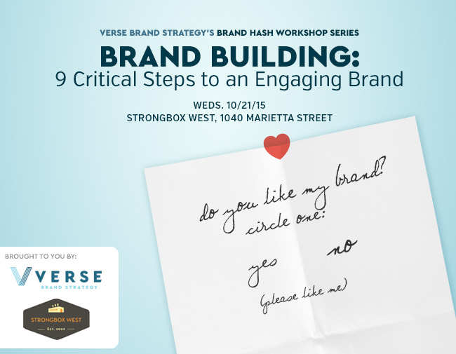 Brand Hash Workshop Series: Brand Building