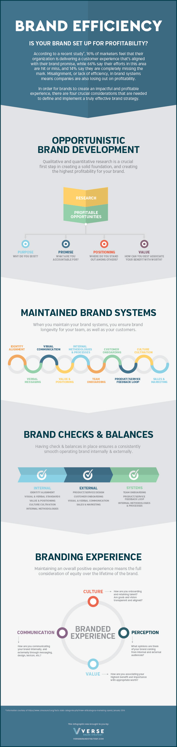 Brand Efficiency Systems Infographic