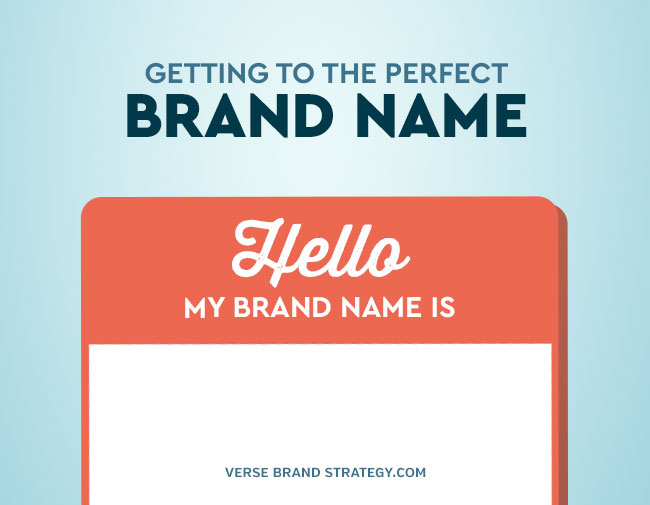 Getting To The Perfect Brand Name